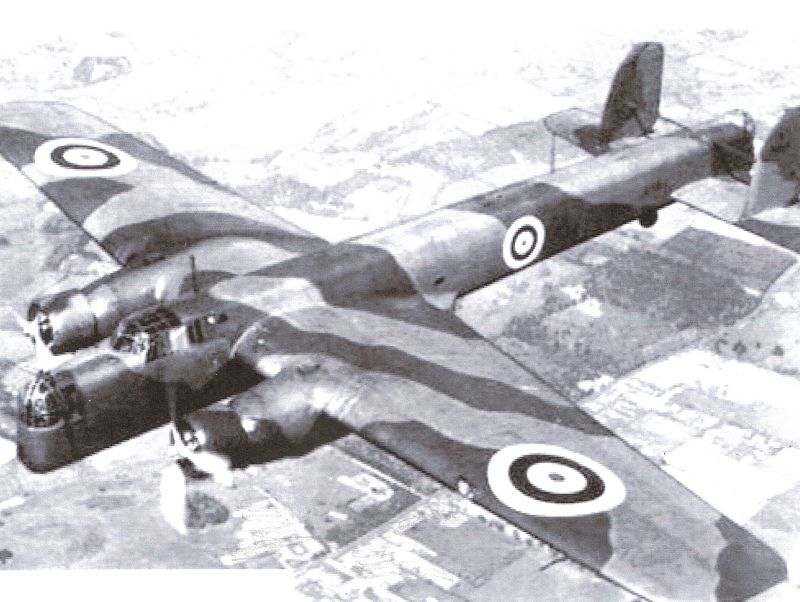 Armstrong Whitworth Whitley 62 Halifaxes
